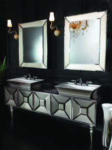 FIABA SATIN MIRROR BRONZE III