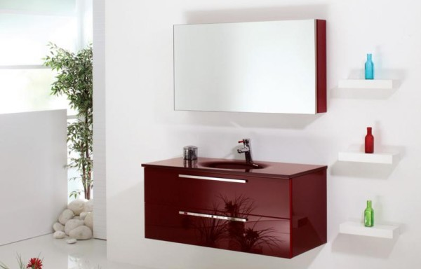 FLAT 3004 Red Glass