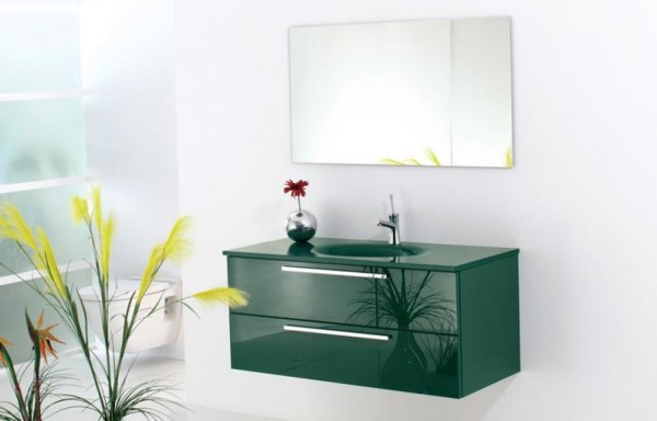 Flat 6028 Green Glass