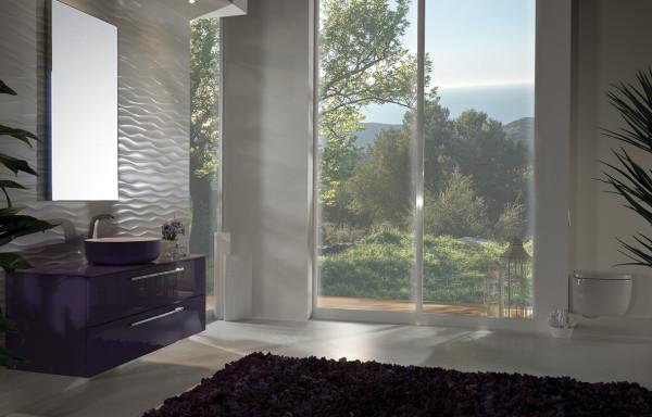 Flat 4005 Violet Glass
