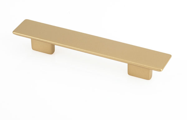 810431280960903 Matte Brass small rectangular pull